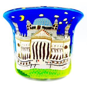 Parlament - Teelichtglas klein 6,5 x 6,5 x 7 cm