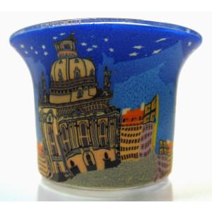 Cathedral - Teelichtglas klein 6,5 x 6,5 x 7 cm