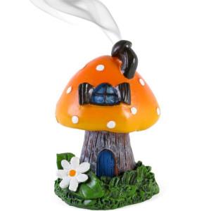 Räucherkegelhalter Orange Smoking Toadstool