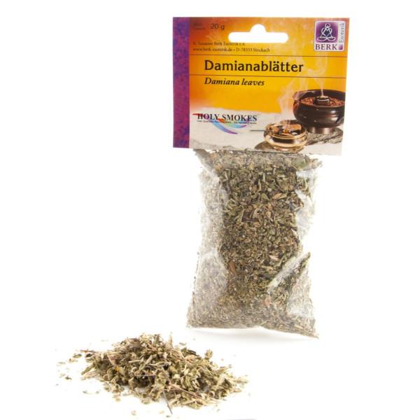 Damianablätter 20 g, Duftende Hölzer & Kräuter