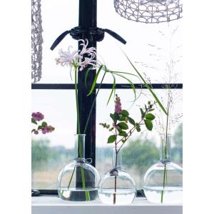 LIL Blumenvase aus Glas 12 cm, Raumduftvase
