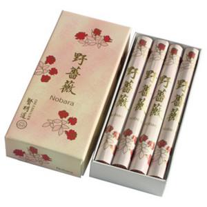 NOBARA - Wilde Rose, Kenmei Do Räucherstäbchen