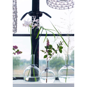 LIL Blumenvase aus Glas 14 cm