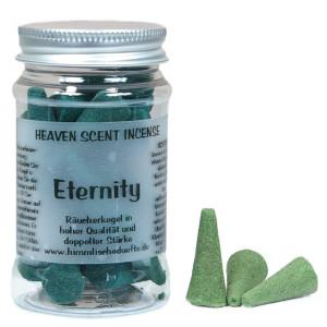 Eternity - Heaven Scent Räucherkegel in Dose