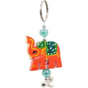 Indischer Elefant-Schlüsselanhänger