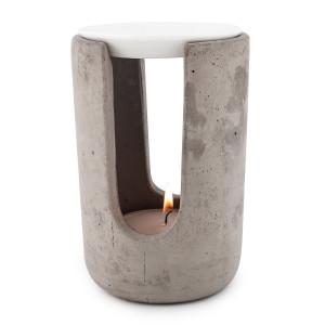 Duftlampe Ambiente, Beton Grau, H 15cm