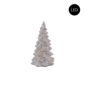 Deko Glas-Weihnachtsbaum Frost S + LED Beleuchtung