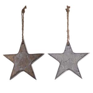 Metall Ornament Stern