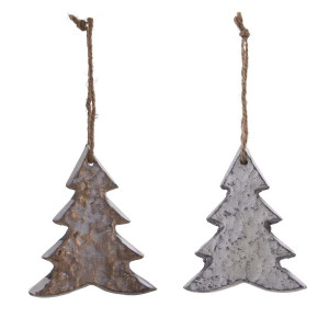 Metall Ornament Weihnachtsbaum