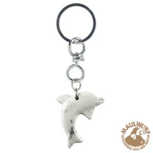 Schlüsselanhänger Delfin Magnesit