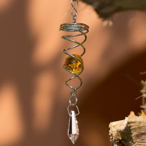 Orbit Little Crystal Twister, amber Inklusive 2...