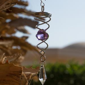 Orbit Little Crystal Twister, purple Inklusive 2...