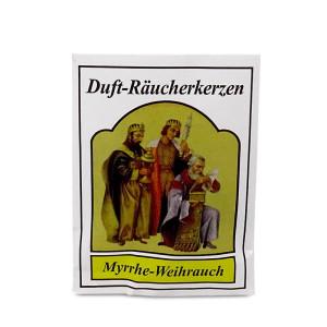 Carl Jäger Myrrhe-Weihrauch Räucherkerzen,...