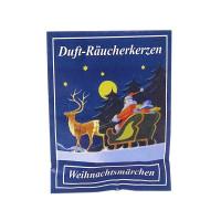 Carl Jäger Weihnachtsmärchen Räucherkerzen, Winterliche Düfte