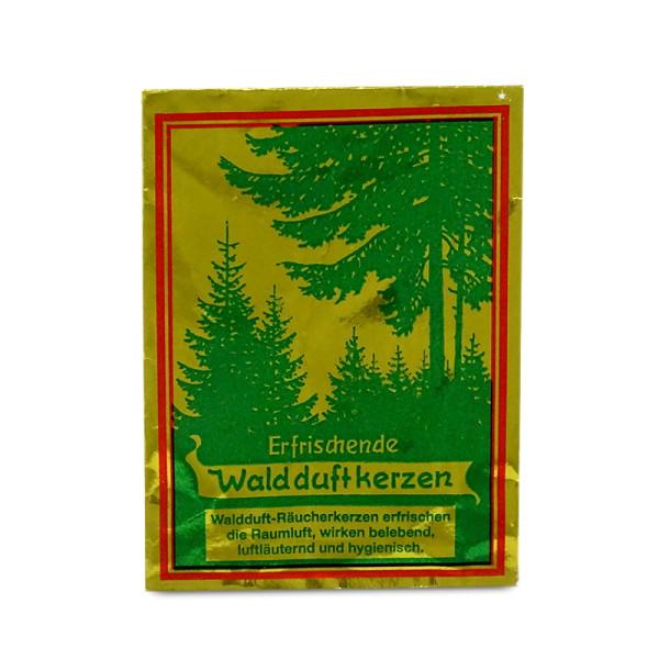Carl Jäger Räucherkerzen - Erfrischende Waldduftkerzen, Ganzjahres-Düfte