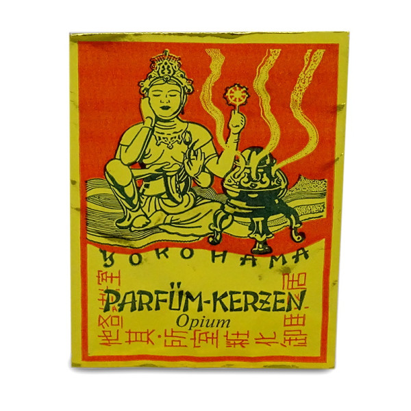 Carl Jäger Premium Parfüm Räucherkerzen - Opium