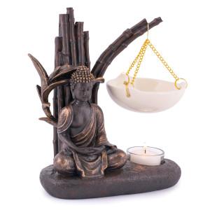 Duftlampe Esoterik Duftöllampe Buddha Keramik Feng Shui Reiki