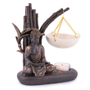 Pajoma Duftlampe Buddha, Höhe ca. 20 cm Länge ca. 17 cm