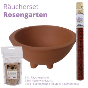 Bijos Räucherset Rosengarten