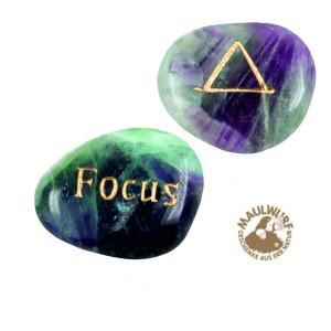 Wunscherfüllungs-Stein Focus , Fluorit