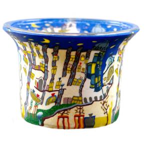Dreamhouse - Teelichtglas klein 6,5 x 6,5 x 7 cm