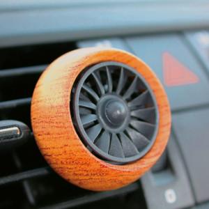Car Diffuser Holz dunkel