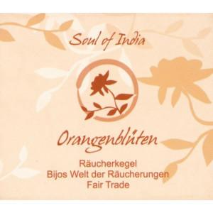 Orangenblüten - Soul of India - FAIR TRADE...