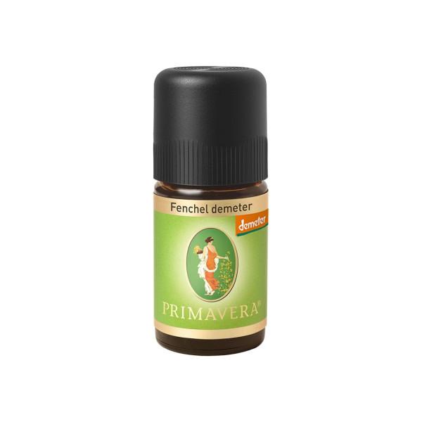 Fenchel demeter bio/DEM 5 ml Primavera ätherisches Öl