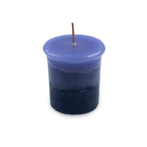 Blaubeere, Pajoma marmorierte Duft-Votivkerze 4er Set