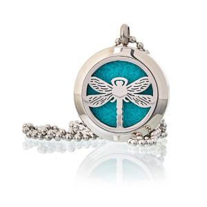 Aroma Diffusor Halskette - Libelle 25mm