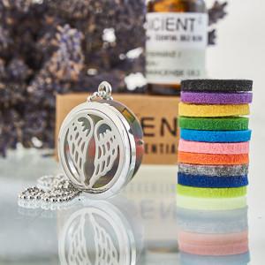 Aroma Diffusor Halskette - Engelsflügel 30mm