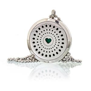 Aroma Diffusor Halskette - Herz 30mm