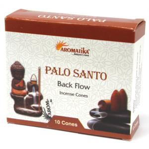 Aromatika Rückfluss Räucherkegel - Palo Santo