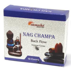 Aromatika Rückfluss Räucherkegel - Nag Champa