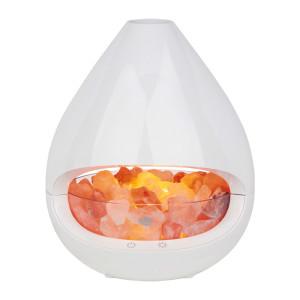 Diffuser und Salzkristall-Lampe GLO madebyzen