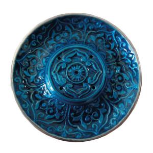 Räucherstäbchenhalter ANWAR blau