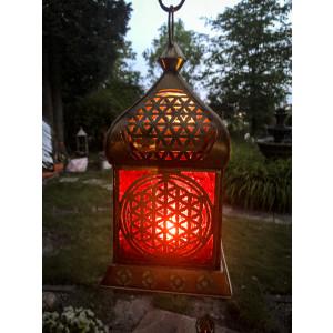 """Orientalisches Licht """"Blume des Lebens"""" Messing..."""