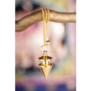 Arakpendel, Messing vergoldet