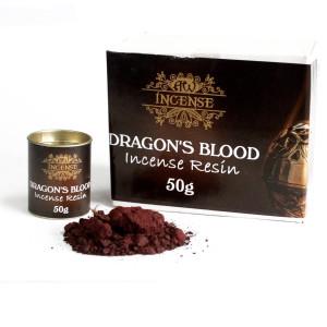 Drachenblut-Räucherharz 50g-Dose