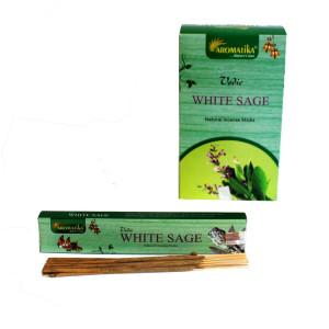 Vedische Räucherstäbchen - Weißer Salbei