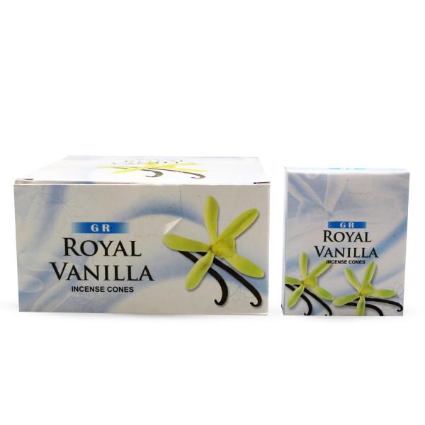 GR Royal Vanilla Räucherkegel