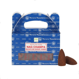 Satya Nag Champa Backflow Dhoop Cones/Rückfluss...