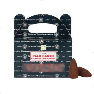 Satya Palo Santo Backflow Dhoop Cones/Rückfluss...