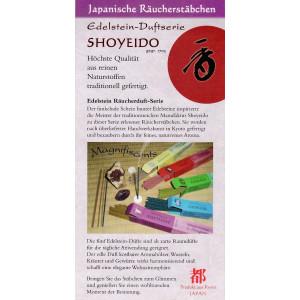 Shoyeido Edelstein - Duftpropen zum Testen
