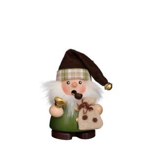 Christian Ulbricht Räuchermann Weihnachtsmann grün