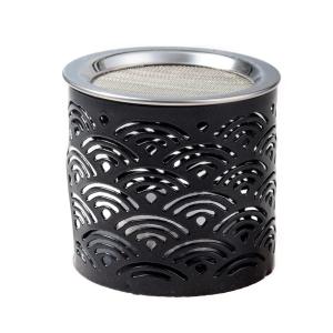 Räucherstövchen Eisen schwarz H 6 cm