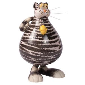 Seyko Sumcolinos Ferdi Cat grau klein, 12cm