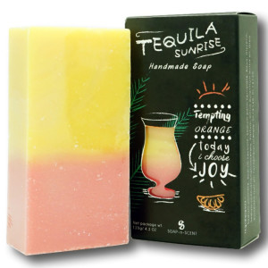 Tequila Sunrise Cocktail-Seifen 120 gr
