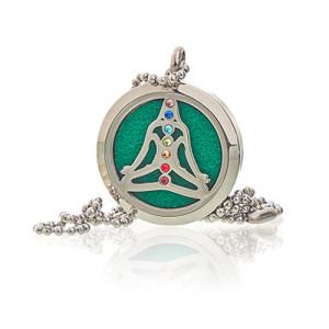 Aroma Diffusor Halskette - Yoga Chakra 30mm