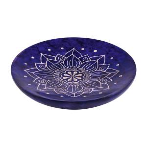 Räucherstäbchenhalter PANUPA rund blau/lila